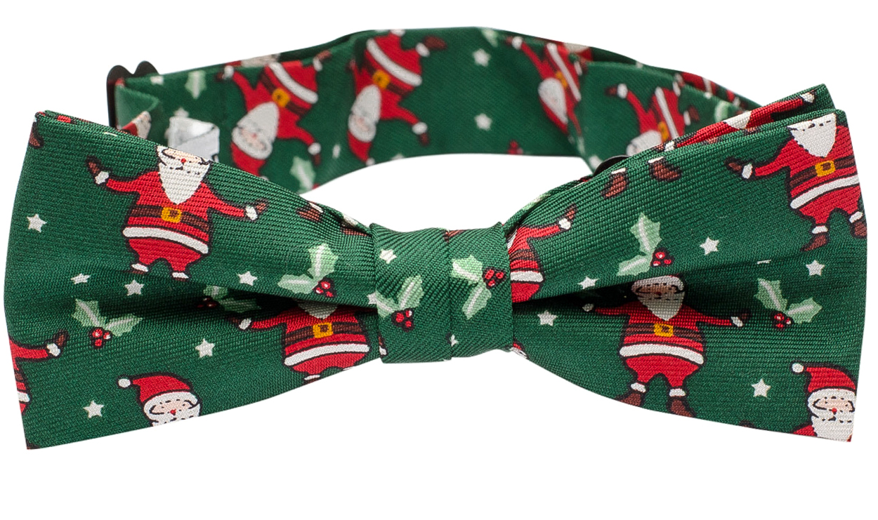 e390232dd716 Kids Christmas Bow Tie Santa Claus - Green - Shop online ...