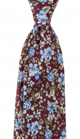 Slips Floral 6 cm | Burgundy Blue