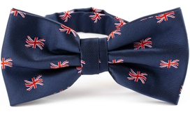 British Flag Bow Tie