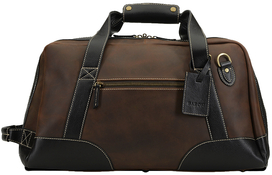 Duffle bag - (Small) Brown Suede