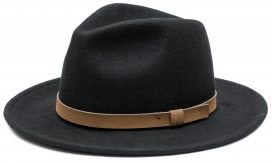 Feodora Country Hat Black