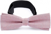 Slim Bow Tie Cotton Collection Checkers