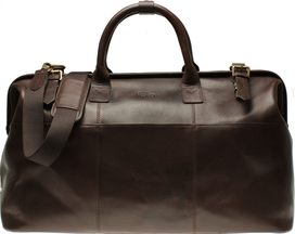 Weekend Bag Dk.Brown Leather