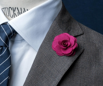 Lapel Flower Pin | Rosélila