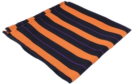 Striped Navy/Orange